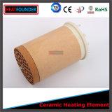 elemento riscaldante di ceramica rotondo di 230V 3300W con il tubo della mica