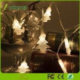 les quirlandes électriques d'arbre de Noël de 1.5W 40 DEL chauffent la lumière blanche de chaîne de caractères de la base 16FT/5m DEL de 2900K USB pour la noce de lumière de décoration