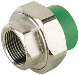 卸し売り緑の白PPRの管付属品の連結