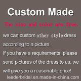 O tampão dos vestidos de casamento do laço Sleeves os vestidos nupciais M5468 de Tulle