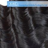 extensions brésiliennes bon marché non transformées de cheveu d'onde du corps 5A (KBL-BH-BW)