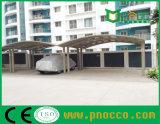 Портативный алюминиевый корпус с поликарбонатным Carport Парус