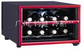 Refrigeración de escritorio aprobada Ce del refrigerador de vino rojo de Screan del tacto mini