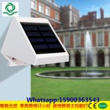 4PCS LED Solarwand-Licht
