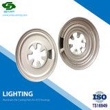 Материал из алюминия CNC обработки Lampshade освещения