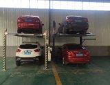 Elevatore residenziale dell'automobile di parcheggio del garage del pozzo dei due alberini