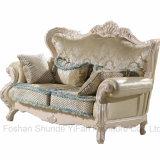 Sofá de madera de la tela para los muebles de la sala de estar (992D)