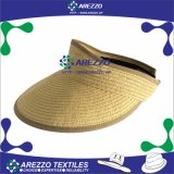 Sombrero de papel del visera de la paja (AZ033A)