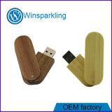 Movimentação de bambu do flash do USB do USB 2.0 da torção