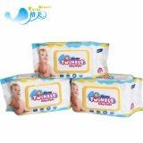 Tessuti organici bagnati del bambino della vitamina E dei Wipes del bambino all'ingrosso