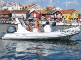 Barco inflável rígido China do reforço dos homens de Liya 10 para a venda