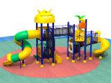 Neues im Freien preiswertes Plastikplättchen des Spielplatz-2017 für Kinder