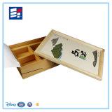 Rectángulo de empaquetado de la cartulina de encargo hecha a mano del papel brillante para la vela