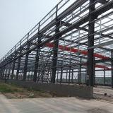 Costruzione della struttura d'acciaio per il workshop ed il magazzino con lo SGS