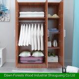 간단한 가정 가구 침실 내각 옷장을 펼치십시오