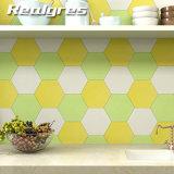 De schone en Moderne Tegel van de Vloer van de Badkamers van het Ontwerp Hexagon Ceramische