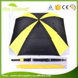 Зонтик гольфа квадрата двойного слоя логоса цвета автомобиля 30 панелей дюйма 8 открытой изготовленный на заказ подгонянный печатью