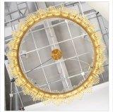 Projeto decorativo personalizado Iluminação Pendente de Cristal