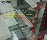 Frigorifero commerciale per la vetrina quadrata (acciaio di marmo di /Stainless)