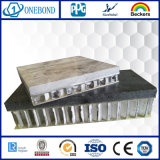 Pierre décoratifs en aluminium Panneau alvéolé pour revêtement de mur extérieur