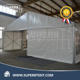 경제적인 백색 평야 PVC 측벽 작은 천막