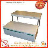 Mostrar las tablas de madera para las tiendas