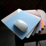 Mouse pad de acrílico personalizado com borracha e Filme Anti-Scrach Non-Slip