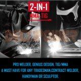 2 in 1 Hf Start TIG cd. Inverter Welder with MMA/Arc/Stick