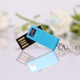 Disco istantaneo del USB del mini metallo della parte girevole dell'oro (YT-3204)