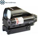 Jagd Riflescope grüner roter PUNKT Laser-Zeiger-Anblick-Reflexbereich des vektoroptiktomcat-1X22X33 mit 20mm Picatinny Weber-Schiene