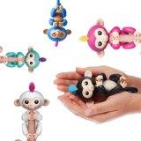Stuk speelgoed van de Vinger van de Aanraking van de Aap van de eenhoorn het Slimme - de Interactieve Aap van het Speelgoed van de Baby