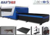 Cnc-Faser-Metalllaser-Ausschnitt-Maschine verwendet in Metallaufbereitendem Gerät