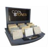 Новый дизайн камня демонстрационный зал пользовательский цвет стола Черной акриловой 30 штук камень в случае отображения миниатюры