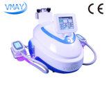 Máquina de congelación gorda del RF de la cavitación de Cryolipolysis con el trabajo de la maneta de 2 Cryolipolysis al mismo tiempo