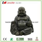 Standbeeld van Boedha van Polyresin het Gelukkige met het Betekenen Fengshui de Decoratie van het Huis en van de Tuin