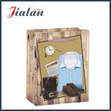 Bolso del regalo del papel de las compras del embalaje del regalo de los hombres al por mayor de la promoción