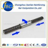 Barre d'acier de matériaux de construction connexion gauche et droite