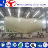 De bulk Semi Aanhangwagen van de Tanker van het Poeder van het Cement Materiële