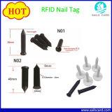 ABS RFID Nagel-Marke für das Bauholz und hölzerne Produkte, die Management aufspüren