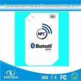 휴대용 Con-Tactless 13.56MHz 외부 NFC 독자 NFC Bluetooth 독자
