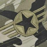 Chapéu militar de Camou com bordado liso