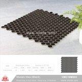Mosaico de cerámica de material de construcción de piscina mosaico (VMC19M003, 310x315mm+D19X6mm)