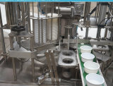 Вращающийся кусок пленки чашку уплотнения и заполнения машины для йогурт желе