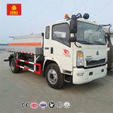 수송을%s HOWO 경트럭 Rhd 5000L 디젤 또는 연료 유조 트럭