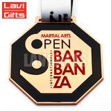 De in het groot Medaille van de Beloning van de Sport van de Toekenning van de Achthoek van het Metaal van de Douane met Lint
