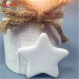 Cerâmica Branca cerâmica de suporte para velas Tealight para