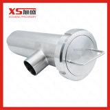 Dn100 en acier inoxydable AISI304, type à angle de la crépine de qualité alimentaire