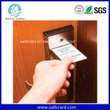 Cartão da identificação do PVC para a amostra livre