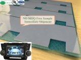 De dunne Pakking van het Silicone Therma met Fiberlgass 3W voor het Video Thermische Stootkussen van RoHS van de Steekproef van het Systeem Vrije