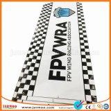 Drapeau de bonne qualité de PVC de coutume d'impression polychrome de Cmyk
